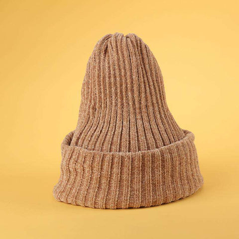 Winter Thick Soft Chenille Knitted Woolen Hat gallery 6