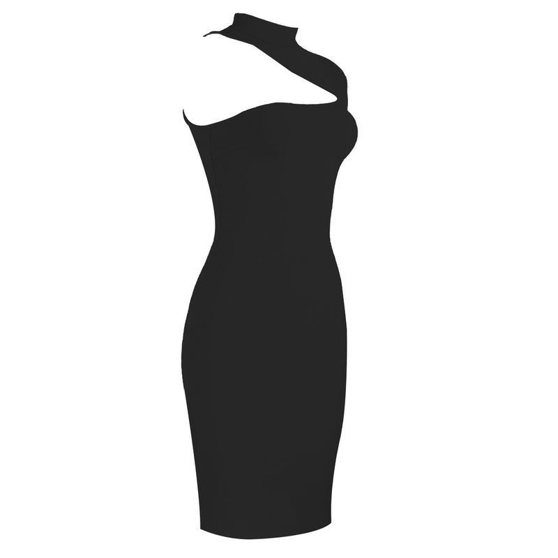Sexy Asymmetric Off Shoulder Midi Dress
