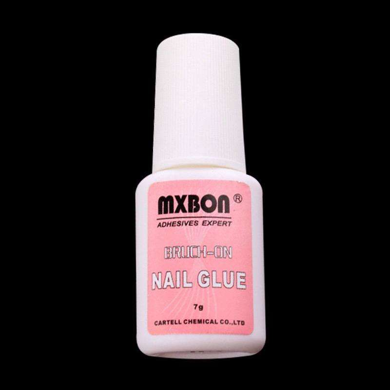 MXBON Super Strong Nail Liquid Bond Glue with Brush