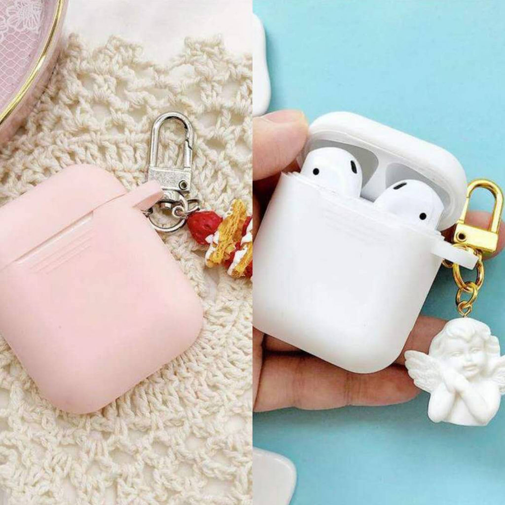 2 Pcs Mini Cute Portable Protective Case for Airpods