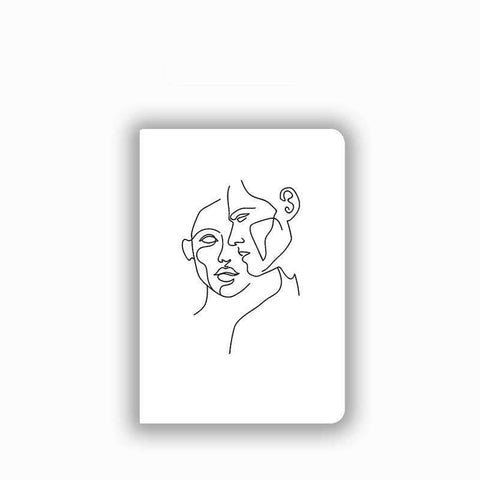 Contracted Face Painted Apple iPad Cover Case gallery 1