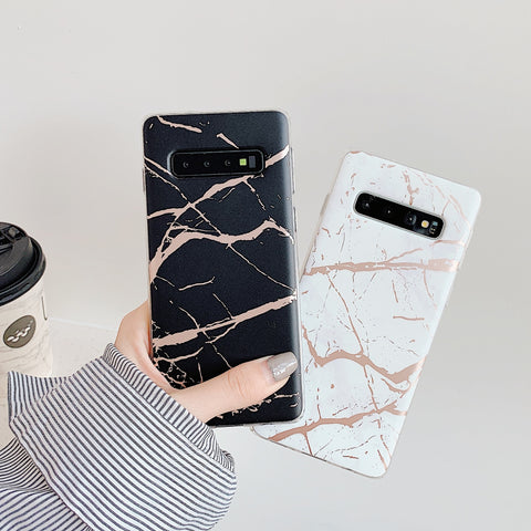 Matte Sand Marble Phone Case for Samsung gallery 8