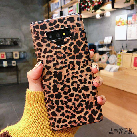 Retro Leopard Phone Case for Samsung gallery 7