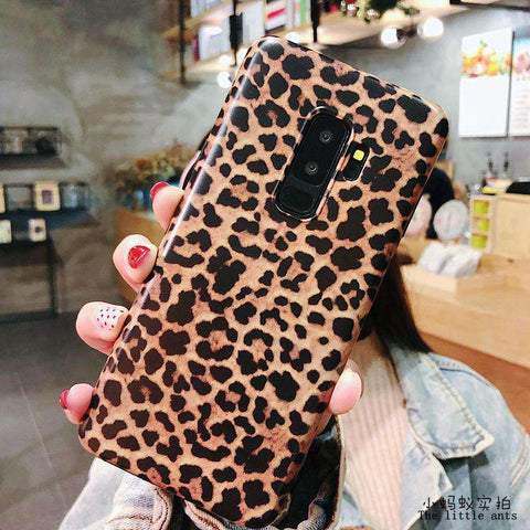 Retro Leopard Phone Case for Samsung gallery 5