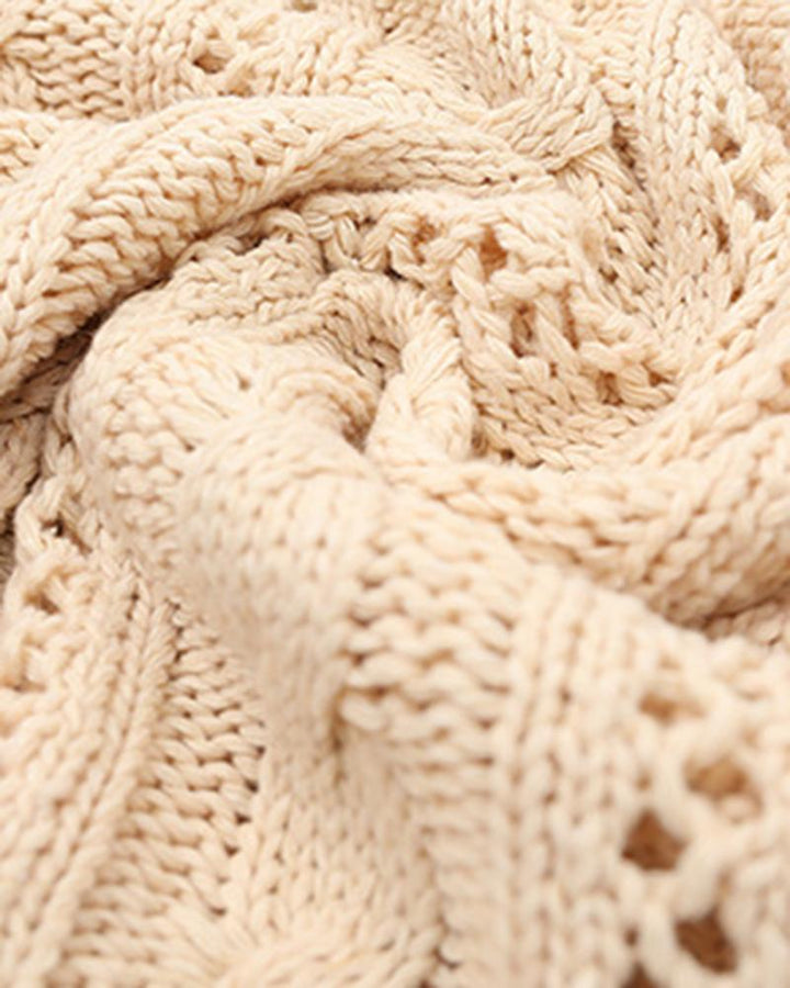 Chunky Knit Button Front Sweater gallery 10