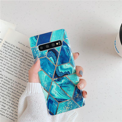 Geometry Marble Patch Phone Case for Samsung gallery 5