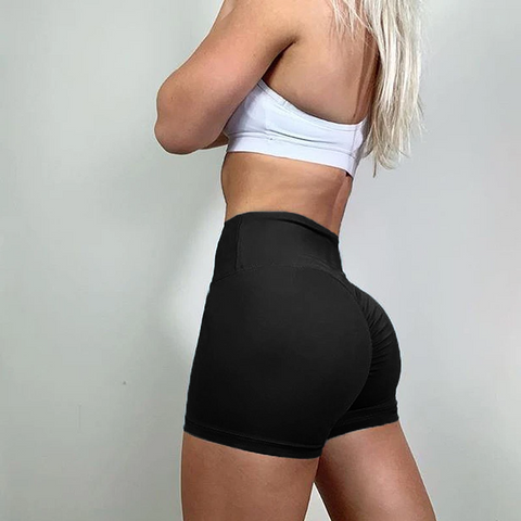 High Rise Compression Push Up Gym Workout Yoga Shorts gallery 8