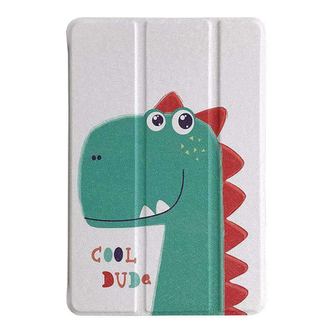 Cute Cartoon Dinosaur Painted Painted Apple iPad Cover Case gallery 2