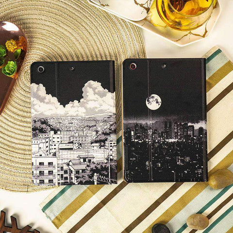 City Night Scenery Painted Apple iPad Cover Case gallery 2