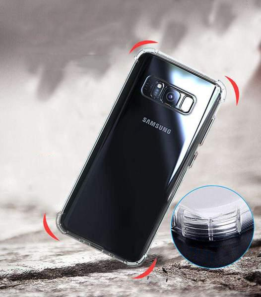 Anti-Fall Transparent Phone Case for Samsung gallery 6