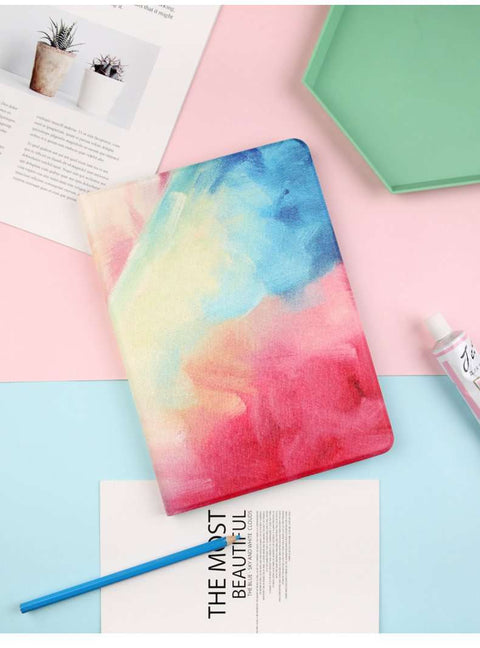 Splashing Colorful Ink Style iPad Cover Case gallery 2