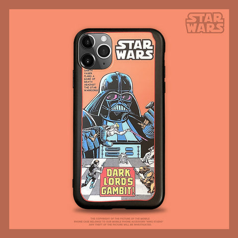 Star Wars Character Print iPhone Case