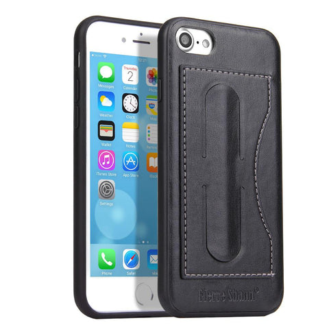 Business Style Samsung Phone Case with Card Holder & Mini Phone Holder gallery 4