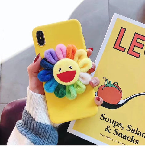 Yellow Laugh Sunflower Phone Case For Samsung gallery 1