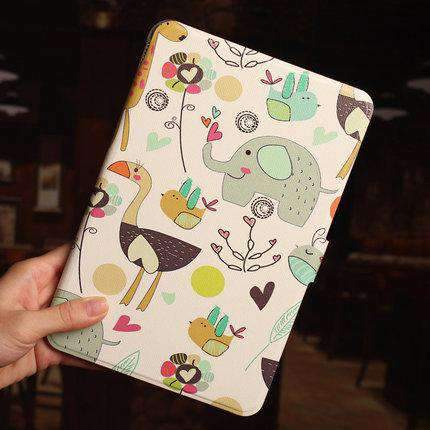 Creative Colorful Painted Apple iPad Cover Case gallery 2