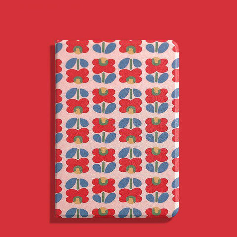 Literary Flower Painted Apple iPad Cover Case gallery 5
