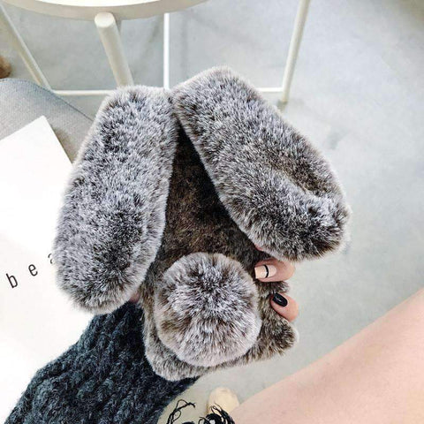 Fluffy Rabbit Phone Case for Samsung gallery 3