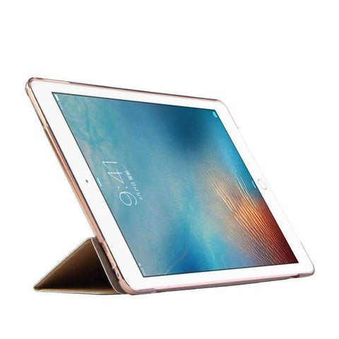 Contracted Solid Color Smart Stand Apple iPad Cover Case gallery 8