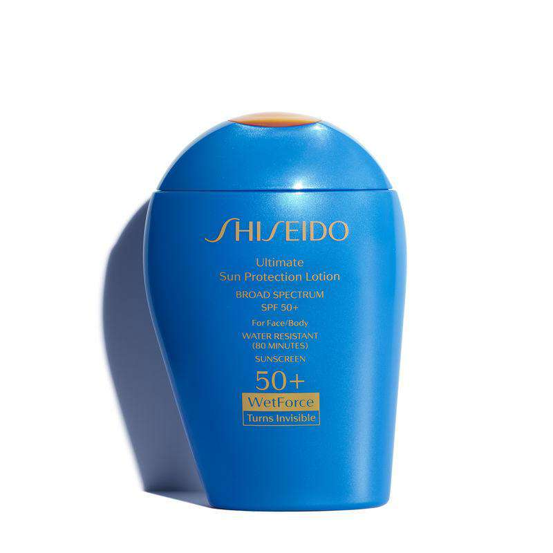 Shiseido - Ultimate Sun Protection Lotion WetForce SPF 50+ Sunscreen
