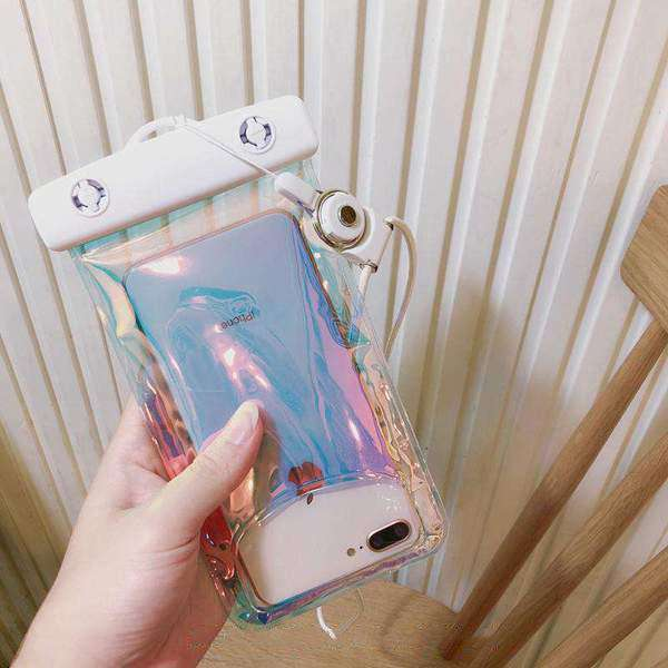 Transparent Mobile Phone Waterproof Bag