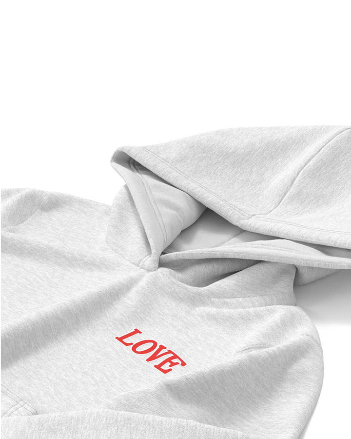 Extra Warm Letter Print Hoodie Pouch Pocket Top & Pants Set gallery 8