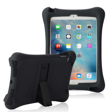 Soft Silicon iPad Cover Case with Holder gallery 4