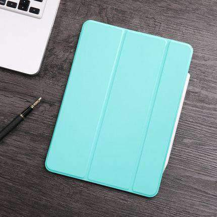 Contracted Business Style Solid Color Apple iPad Cover Case gallery 6