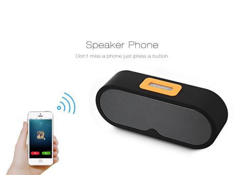 Bluetooth Speaker Portable Wireless Player Dual Driver gallery 8