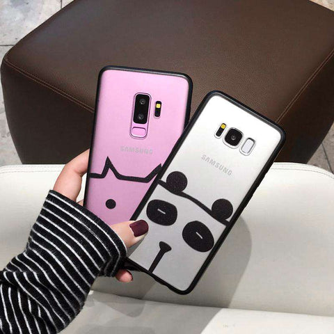 Samsung Frosted Cartoon Print Phone Case gallery 1