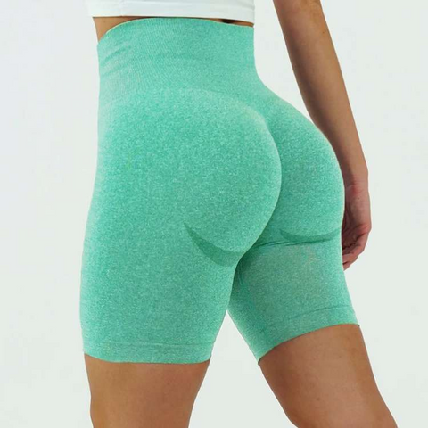 Flaming Deal - Beauty Contour Wide Waistband Sports Shorts gallery 5