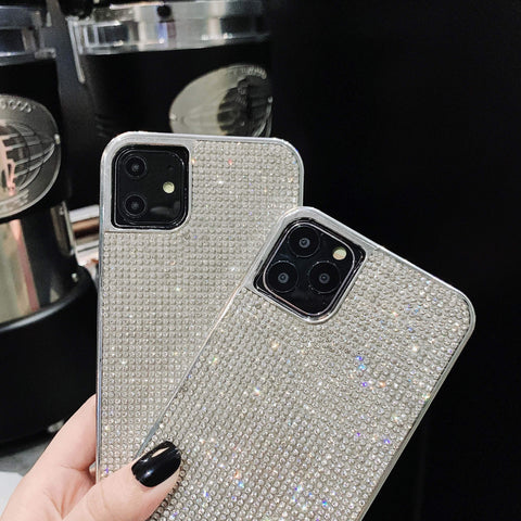 Sparkle All-Over Crystal Stud Phone Case for Samsung with Hand Strap gallery 6