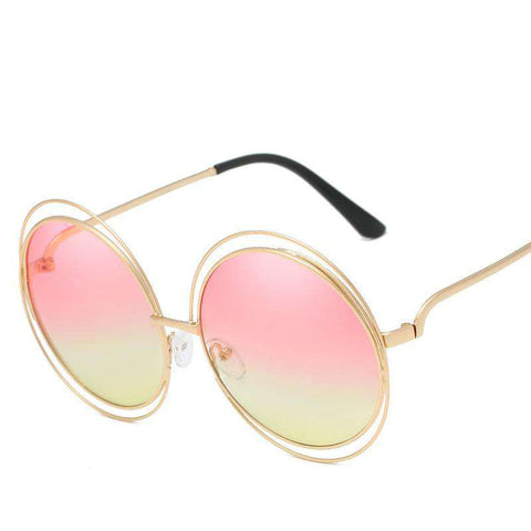 Ombre Double Frame Hollowed Sunglasses gallery 13