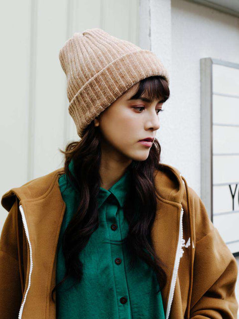 Winter Thick Soft Chenille Knitted Woolen Hat gallery 1