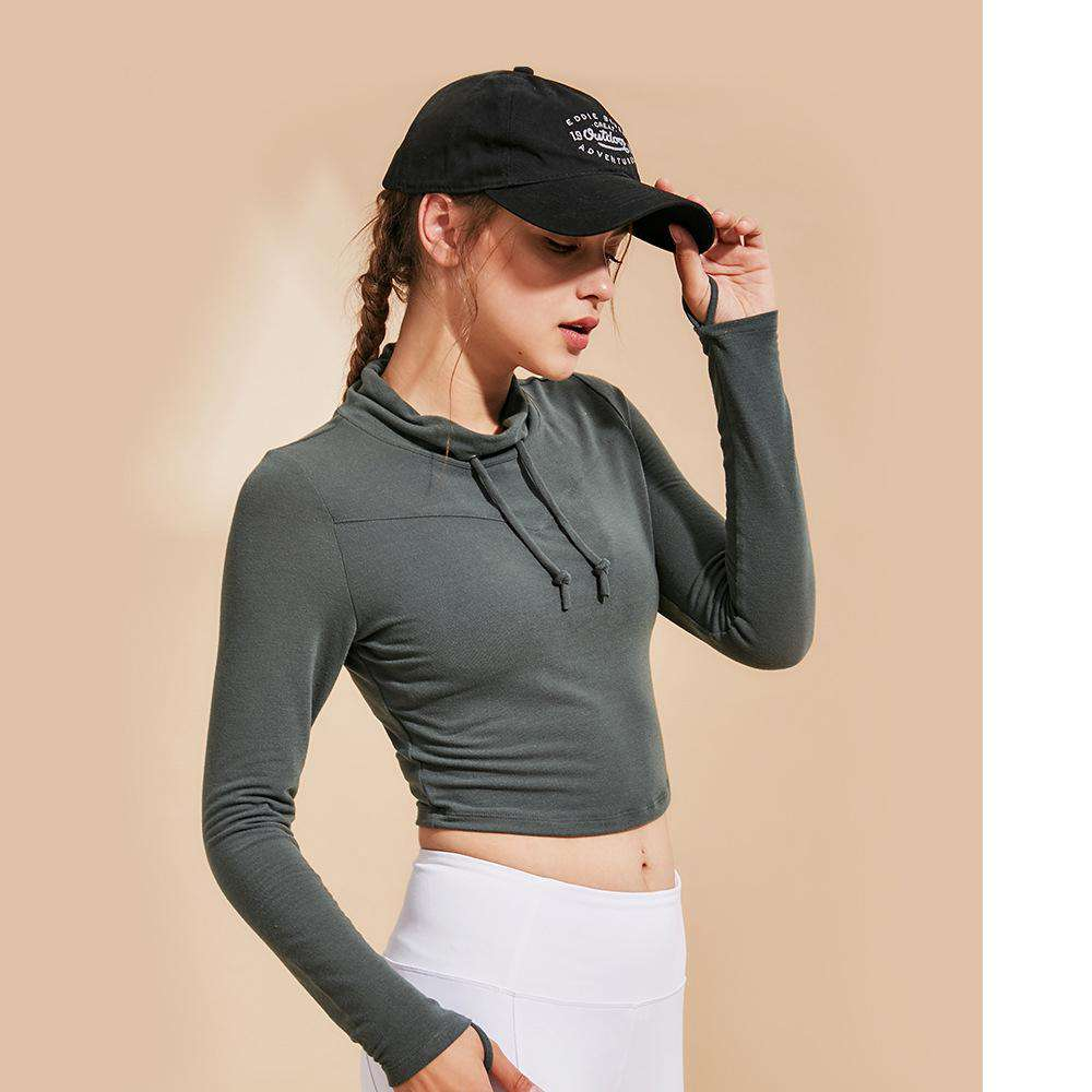 Quick Dry Breathable Sports Yoga Hoodie