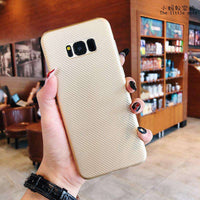 Textured Plain Phone Case for Samsung