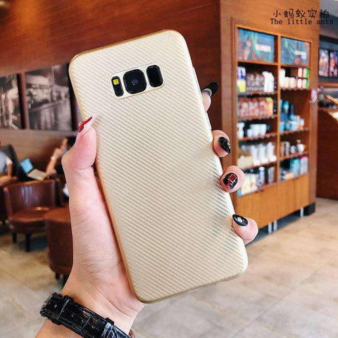 Textured Plain Phone Case for Samsung gallery 6