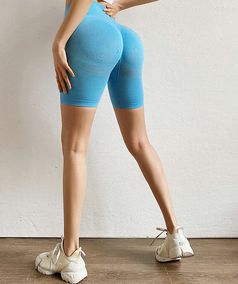 Beauty Contour Butt Lifting Fitness Sports Shorts gallery 12