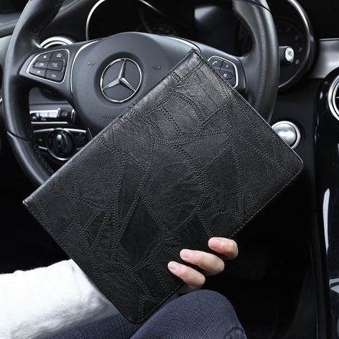 Faux Leather Foldable iPad Cover Case gallery 7
