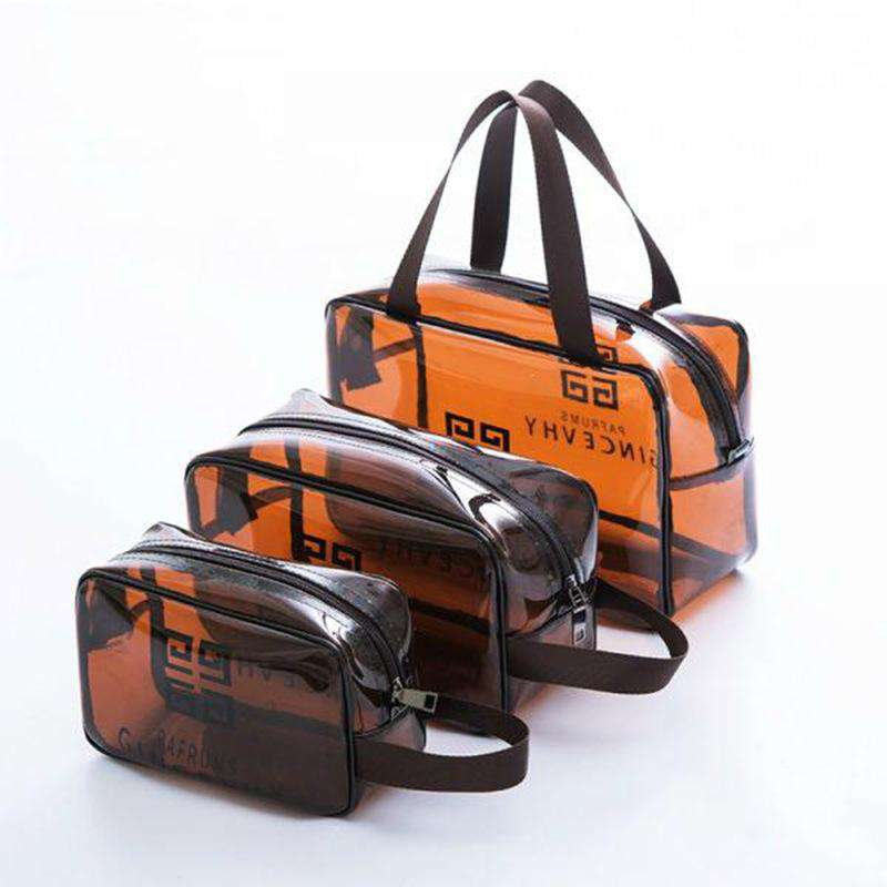 New Style Transparent & Waterproof Travel Bag with Handle