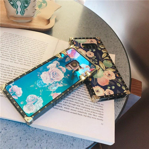 Floral Print Phone Case for Samsung with Phone Holder gallery 4