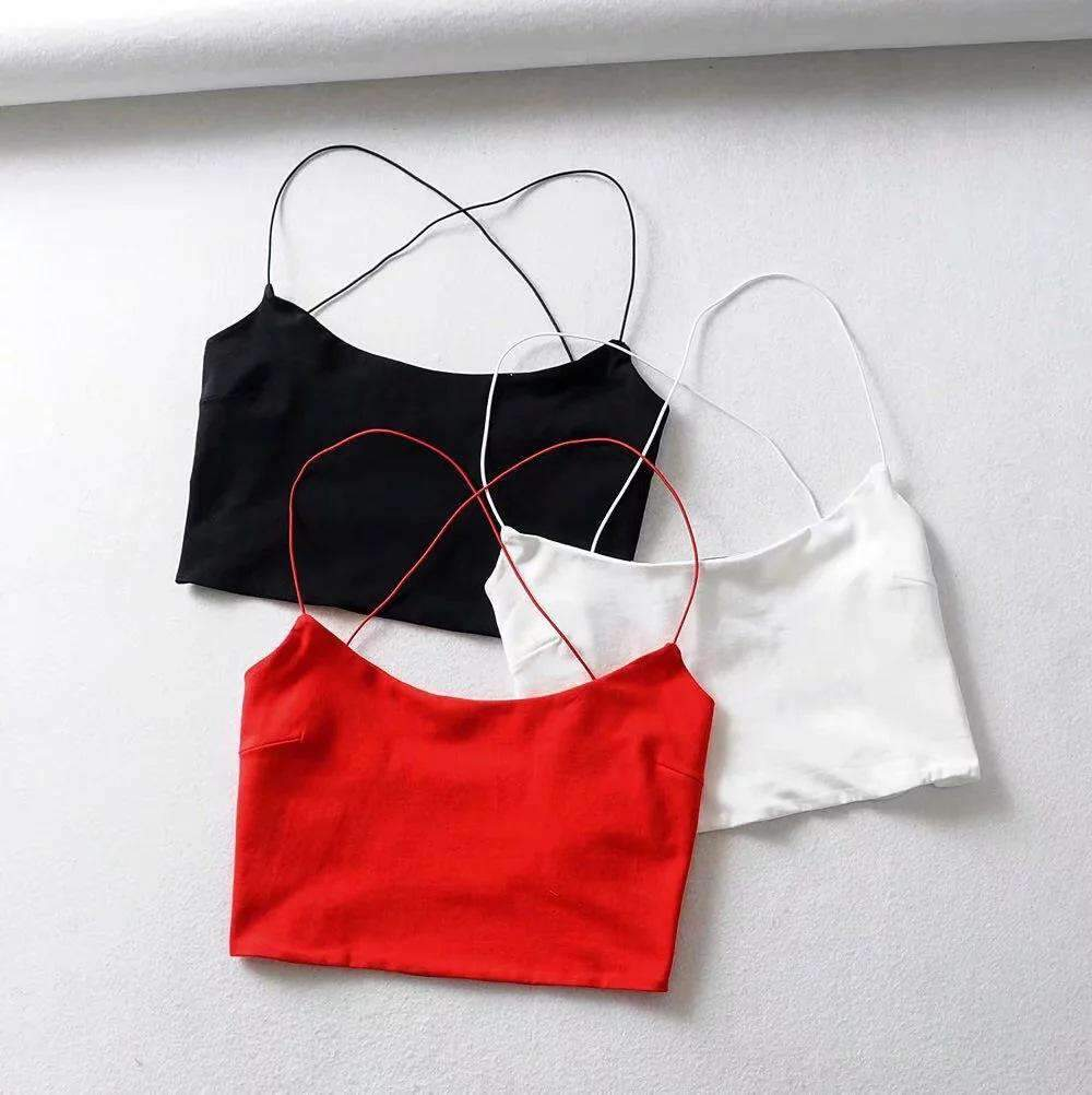 Backless Crop Cami Top