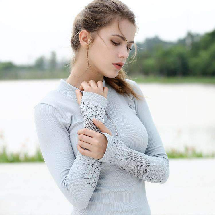 Breathable Hollow Out Yoga Sports Top
