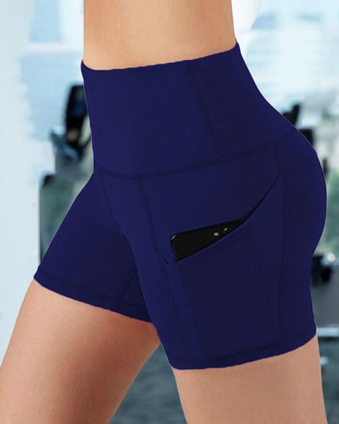 Butt Lifting Pocket Side Sports Shorts gallery 4