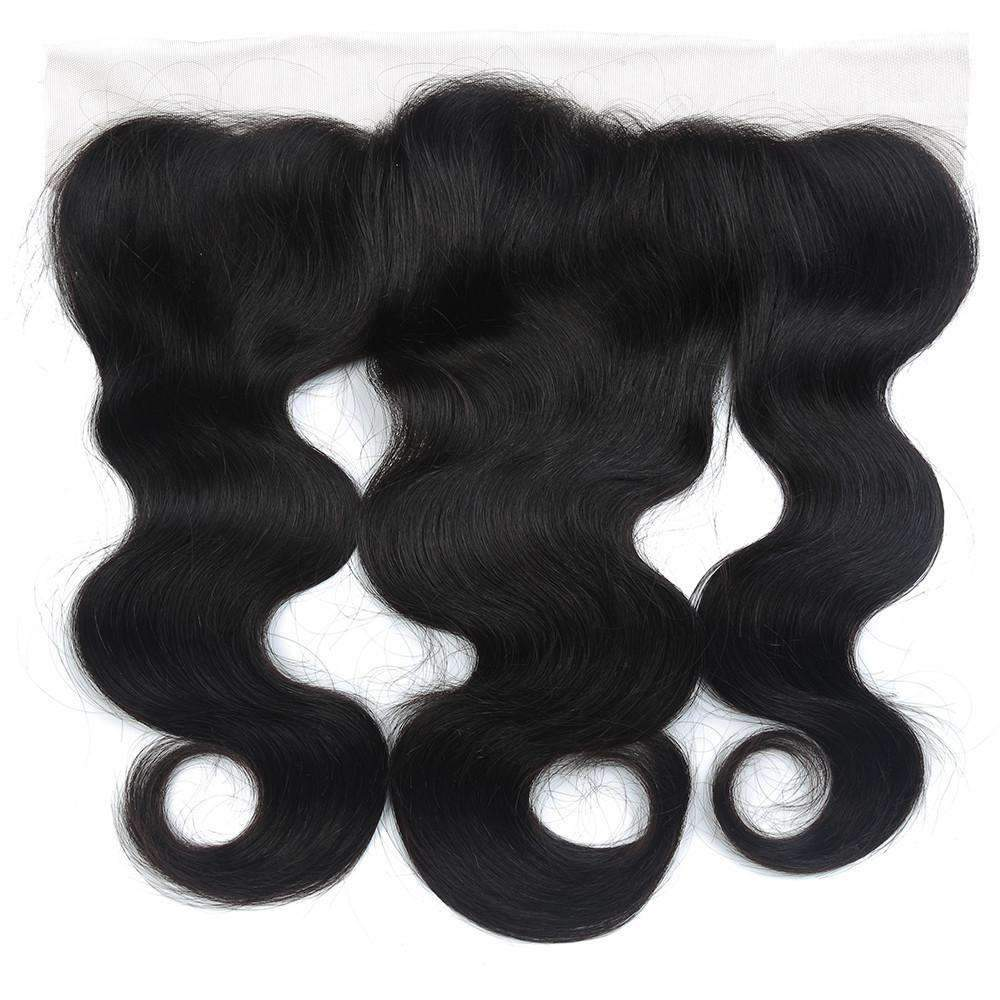 Brazilian Body Wave Human Hair with 13X4 Lace Closure