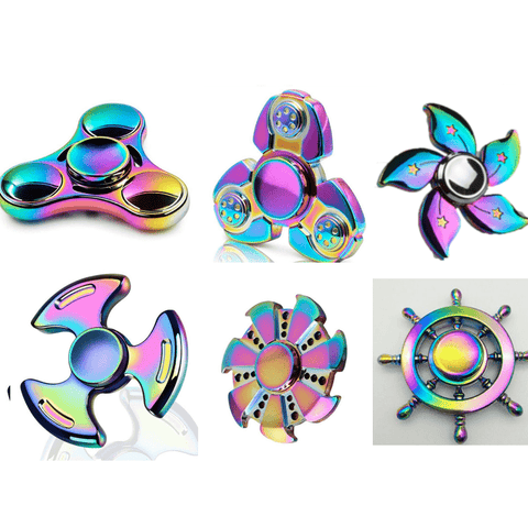 Colored Decompression Hand Spinner gallery 3
