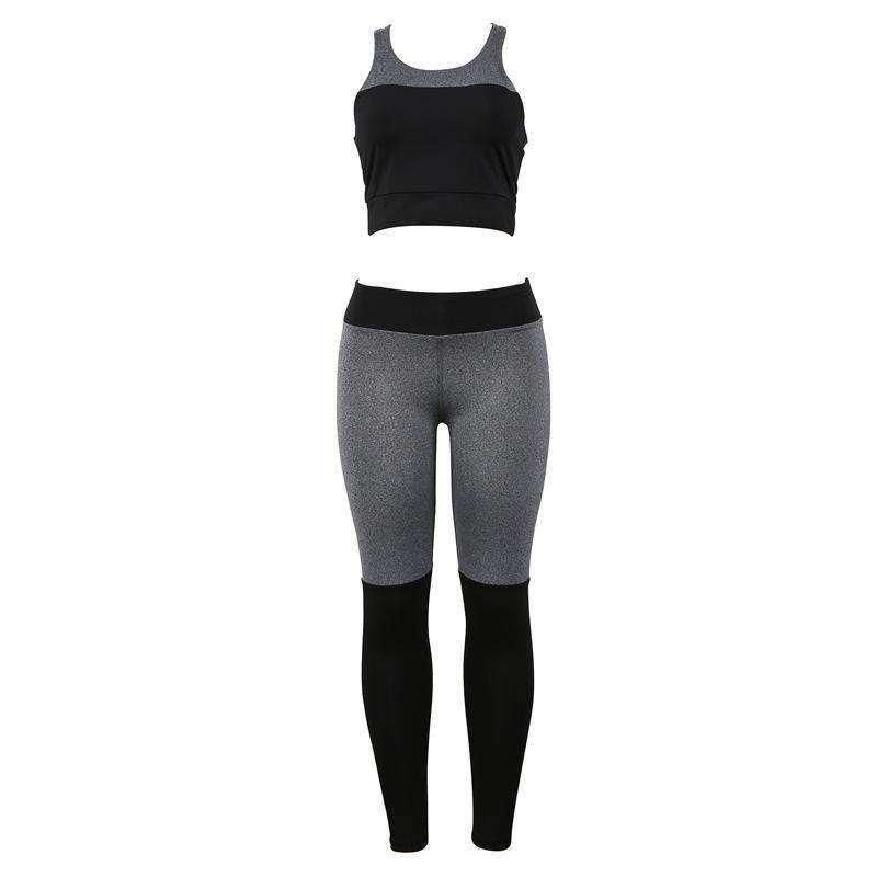 Backless Sports Vest & Breathable Pants Leggings Yoga Set