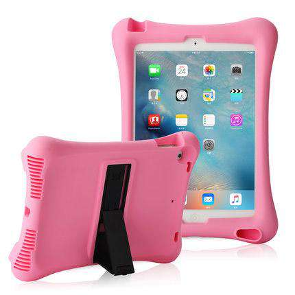 Soft Silicon iPad Cover Case with Holder