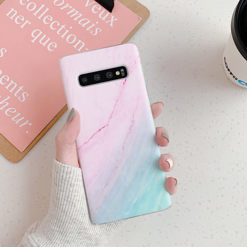 Marble Tie Dye Print Phone Case for Samsung gallery 5