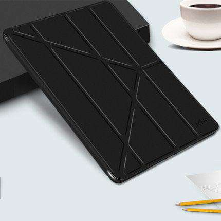 Solid Color Apple iPad Cover Case with Capacitive Pen gallery 1