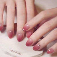 Elegant Roseleaf Magic Press On Nail Manicure